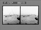 view [View of ships in harbor : stereo photonegative,] digital asset: [View of ships in harbor : stereo photonegative,] 1909.