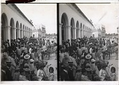 view Calle Mercado (W.) past marketplace thronged with typical Colombians, Barranquilla, S.A. 11510 Interpositive digital asset: Calle Mercado (W.) past marketplace thronged with typical Colombians, Barranquilla, S.A. 11510 Interpositive 1906.