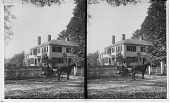 view Home of Ralph Waldo Emerson, Concord. [Active no. 11545 : stereo interpositive,] digital asset: Home of Ralph Waldo Emerson, Concord. [Active no. 11545 : stereo interpositive,] 1900.