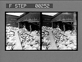 view Loading rock salt into cars--60 carloads per day, Retsof. [Active no. 13519 : stereo photonegative,] digital asset: Loading rock salt into cars--60 carloads per day, Retsof. [Active no. 13519 : stereo photonegative,] 1906.