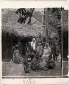 view Natives of Dahomey, Africa--Dahomey Village. 1714 Interpositive digital asset: Natives of Dahomey, Africa--Dahomey Village. 1714 Interpositive 1900.
