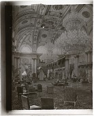 view Great Durbar Hall in palace of H.H. the Maharaja of Gwalior, one of India's richest princes. 3484 Interpositive digital asset: Great Durbar Hall in palace of H.H. the Maharaja of Gwalior, one of India's richest princes. 3484 Interpositive