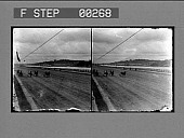 view A brush on the speedway; N.Y. [View of race track from front : stereo photonegative.] digital asset: A brush on the speedway; N.Y. [View of race track from front : stereo photonegative.]