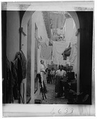 view [Alley or street with women, children, and laundry on clotheslines : Active no. 6633 : interpositive] digital asset: [Alley or street with women, children, and laundry on clotheslines : Active no. 6633 : interpositive, undated.]