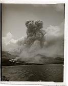 "view ""A terrible volcanic explosion--Mont Pelee in eruption, June, 1902."" Active no. 6683 : interpositive digital asset: ""A terrible volcanic explosion--Mont Pelee in eruption, June, 1902."" Active no. 6683 : interpositive, 1902."