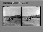 view [Side view of race track : Stereo photonegative.] digital asset: [Side view of race track : Stereo photonegative.]
