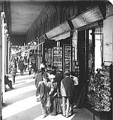 view Shops and shoppers in the popular Rue de Rivoli, Paris. Active no. 9573 : Interpositive digital asset: Shops and shoppers in the popular Rue de Rivoli, Paris. Active no. 9573 : Interpositive.