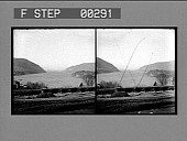 view Up the Hudson, West Point. [Stereo photonegative.] digital asset: Up the Hudson, West Point. [Stereo photonegative.]