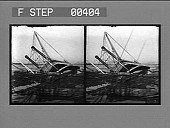 view A common occurrence on the Mississippi--a sunken River Steamer, the result of striking a submerged log. [Active no. 812. Stereo photonegative.] digital asset: A common occurrence on the Mississippi--a sunken River Steamer, the result of striking a submerged log. [Active no. 812. Stereo photonegative.]