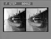 view Loading a whaleback steamer with coal, Newport News, Va. [Active no. 882 : stereo photonegative,] digital asset: Loading a whaleback steamer with coal, Newport News, Va. [Active no. 882 : stereo photonegative,] 1906.