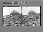 view [Rugged house atop rocky area. Stereo photonegative.] digital asset: [Rugged house atop rocky area. Stereo photonegative.]