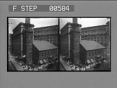 view The old South Meeting House, scene of many stirring events. Active no. 12803 : stereo photonegative digital asset: The old South Meeting House, scene of many stirring events. Active no. 12803 : stereo photonegative.