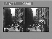 view State St., the financial centre of the city, and the old State House. [Active no. 12804 stereo photonegative.] digital asset: State St., the financial centre of the city, and the old State House. [Active no. 12804 stereo photonegative.]