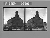 "view Faneuil Hall, the ""Cradle of American Liberty."" [Active no. 12806 : stereo photonegative.] digital asset: Faneuil Hall, the ""Cradle of American Liberty."" [Active no. 12806 : stereo photonegative.]"