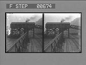 view A coal mine tipple, where coal is weighed and loaded into freight cars. [Active No.: 13223, variant. Stereo photonegative,] digital asset: A coal mine tipple, where coal is weighed and loaded into freight cars. [Active No.: 13223, variant. Stereo photonegative,] 1906.