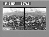 view [Overview of stockyards filled with cattle. Active no. 204? Stereo photonegative,] digital asset: [Overview of stockyards filled with cattle. Active no. 204? Stereo photonegative,] 1904.