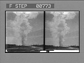 view Old Faithful, almost as regular as if timed by a clock, at intervals of about an hour the geyser in Yellowstone Park Wyoming, spouts a stream of hot water to a height of many feet. [Active no. 12055 : stereo photonegative,] digital asset: Old Faithful, almost as regular as if timed by a clock, at intervals of about an hour the geyser in Yellowstone Park Wyoming, spouts a stream of hot water to a height of many feet. [Active no. 12055 : stereo photonegative,] 1904.