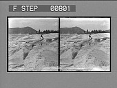 view [Rugged geological formation in park : stereo photonegative,] digital asset: [Rugged geological formation in park : stereo photonegative,] 1904.