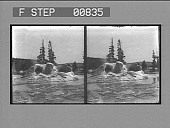 view [View of geyser area : stereo photonegative,] digital asset: [View of geyser area : stereo photonegative,] 1904.