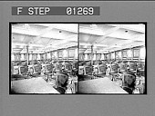 view [Chairs in large room. Stereo photonegative.] digital asset: [Chairs in large room. Stereo photonegative.]