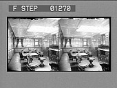 view [Furniture in large room. Stereo photonegative.] digital asset: [Furniture in large room. Stereo photonegative.]