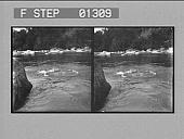 view [River rapids, Jamaica. Stereo photonegative.] digital asset number 1