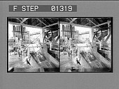view [Machinery in building, Jamaica. Stereo photonegative.] digital asset number 1