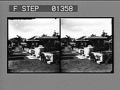 view [Street and buildings : stereo photonegative.] digital asset: [Street and buildings : stereo photonegative.]