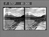 view [Beach scene in West Indies: stereo photonegative.] digital asset: [Beach scene in West Indies: stereo photonegative.]