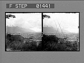 view General view of Caracas among the mountains of Venezuela, from Calvario Park. [Active no. 9013 : stereo photonegative.] digital asset: General view of Caracas among the mountains of Venezuela, from Calvario Park. [Active no. 9013 : stereo photonegative.]