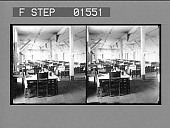 view [Dining-room of the Isthmian Canal Commission Hotel, Culebra. Active no. 11525 stereo photonegative,] digital asset: [Dining-room of the Isthmian Canal Commission Hotel, Culebra. Active no. 11525 stereo photonegative,] 1906.