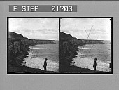 view [Giant's Causeway, Ireland. Stereo photonegative.] digital asset: [Giant's Causeway, Ireland. Stereo photonegative.]