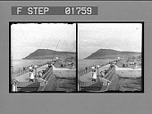 view [Seacoast in Great Britain: stereo photonegative.] digital asset number 1