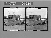 view [Exterior of National Museum building in Stockholm: stereo photonegative.] digital asset: [Exterior of National Museum building in Stockholm: stereo photonegative.]