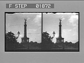 view [Monument of Victory in Thiergarten, Berlin: 2112 stereo photonegative,] digital asset: [Monument of Victory in Thiergarten, Berlin: 2112 stereo photonegative,] 1900.