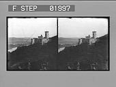 view [Castle on Rhine River: stereo photonegative.] digital asset: [Castle on Rhine River: stereo photonegative.]