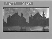 view The quaint Rathhaus (City Hall) of Hildesheim. [Active no. 2134 : stereo photonegative.] digital asset: The quaint Rathhaus (City Hall) of Hildesheim. [Active no. 2134 : stereo photonegative.]