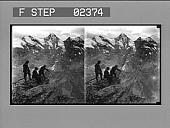 view [Mountains, Switzerland] : stereo photonegative digital asset: [Mountains, Switzerland] : stereo photonegative.