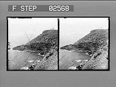 view [Seacoast in Greece: stereo photonegative.] digital asset number 1