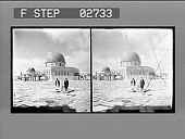 view [Mosque, Palestine.] [ stereo photonegative.] digital asset: [Mosque, Palestine.] [ stereo photonegative.]