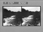 view [Rapids on Jordan River.] [Stereo photonegative.] digital asset number 1