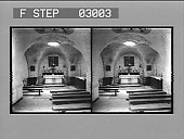 view [Church interior in Palestine : stereo photonegative.] digital asset: [Church interior in Palestine : stereo photonegative.]