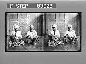 view [Two musicians, Burma : stereoscopic photonegative.] digital asset: [Two musicians, Burma : stereoscopic photonegative.]