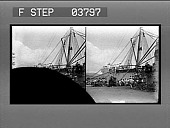 """view The United States Army transport """"Warren"""" coaling at Honolulu. [Active no. 3651 : stereo photonegative.] digital asset: The United States Army transport """"Warren"""" coaling at Honolulu. [Active no. 3651 : stereo photonegative.]"""