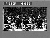 view [William Howard Taft on campaign stand.] [glass stereo photonegative] digital asset: [William Howard Taft on campaign stand.] [glass stereo photonegative] 1909.
