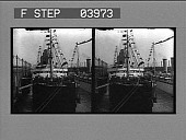 view The S.S. Deutschland at her pier in New York just before sailing. [photonegative] digital asset: The S.S. Deutschland at her pier in New York just before sailing. [photonegative] 1902