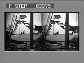 view [Ship with U.S. Flag and flag banners in dock area.] [photonegative] digital asset: [Ship with U.S. Flag and flag banners in dock area.] [photonegative] 1902
