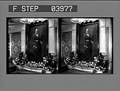 view Portrait of Kaiser Wilhelm II, on S.S. Deutschland. [photonegative] digital asset: Portrait of Kaiser Wilhelm II, on S.S. Deutschland. [photonegative] 1902.