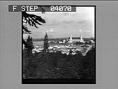 "view Government Building, Bridge of Nations and ""Trail."" [Active no. 8608 : non-stereo photonegative.] digital asset: Government Building, Bridge of Nations and ""Trail."" [Active no. 8608 : non-stereo photonegative.]"