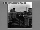 view Oriental Court, Foreign Buildings and Government Building. [Active no. 8609 : non-stereo photonegative.] digital asset: Oriental Court, Foreign Buildings and Government Building. [Active no. 8609 : non-stereo photonegative.]